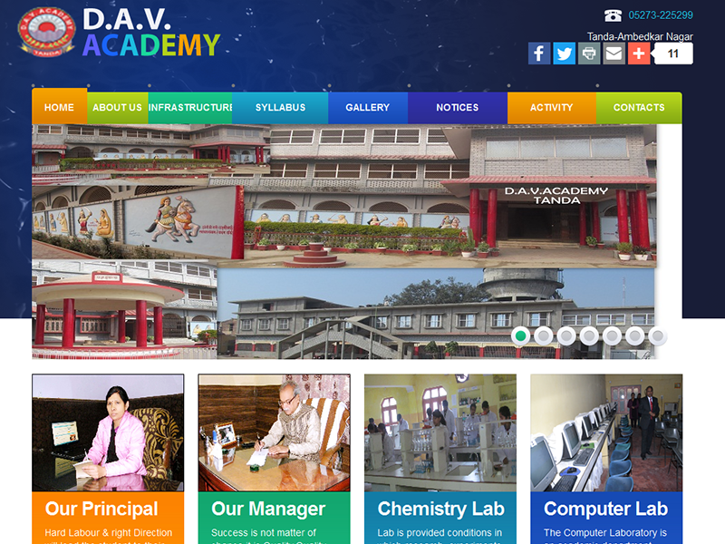 Inter College Website